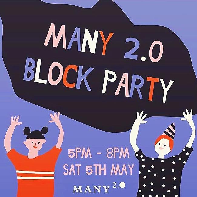 MANY 2.0 birthday party