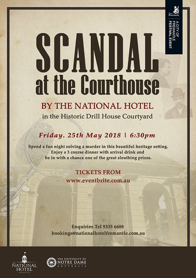 May 25 Scandal at Courthouse