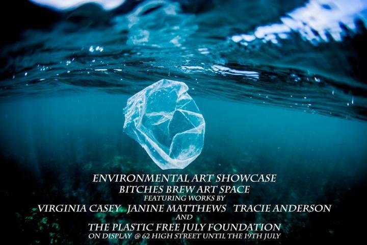 Bitches Brwe plastic free July art