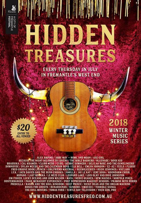 Hidden Treasures. July