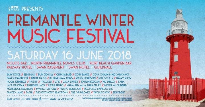 June 16 Winter Music Fest Nth Freo