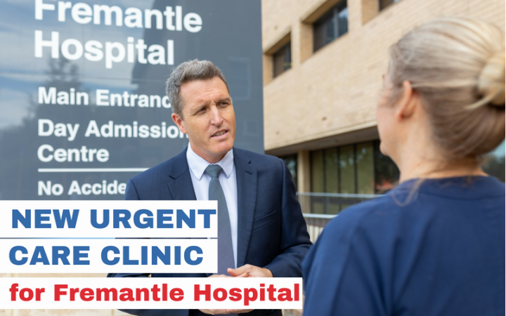 Freo Hospital urgent care clinic