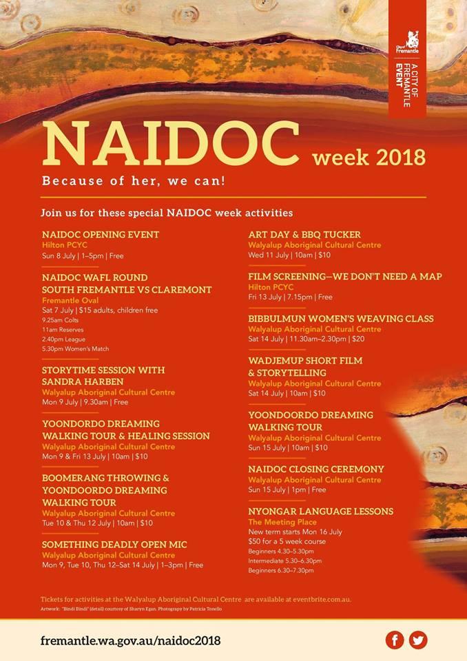 NAIDOC Week July 8