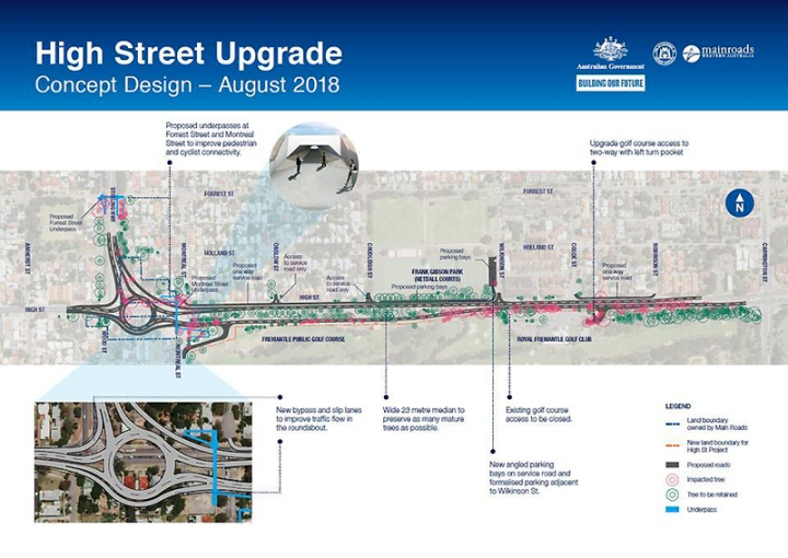 High Street upgrade