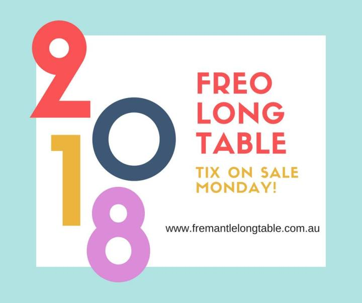 Long Table Monday tickets sale