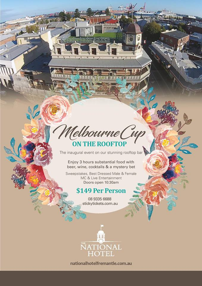 MelbourneCup on the roof