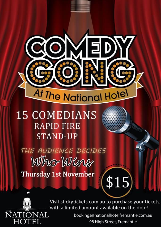 Nov 1 Comedy at National