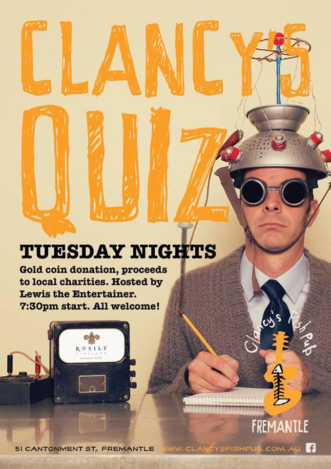 Clancy's Quiz Night