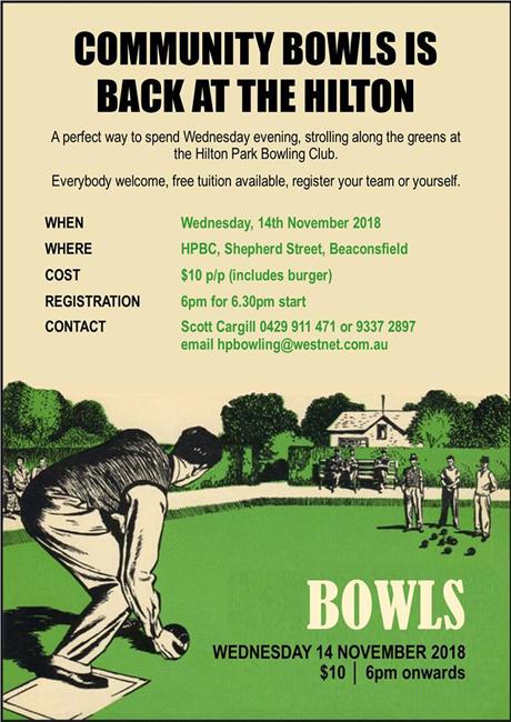 Communty bowls