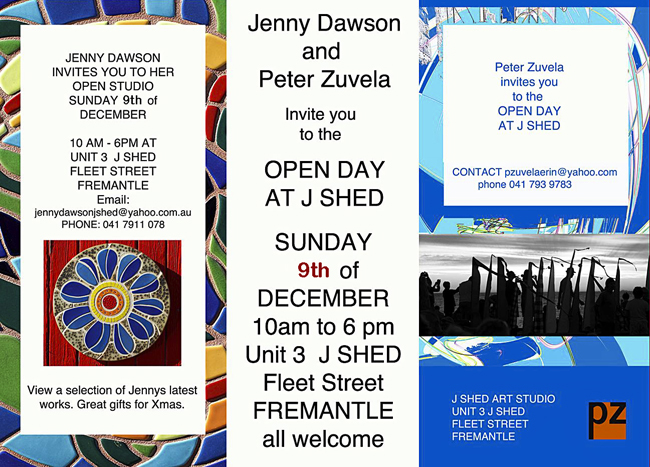 Dec 9 J Shed open day
