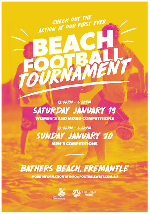 jan 201 beach football at bathers