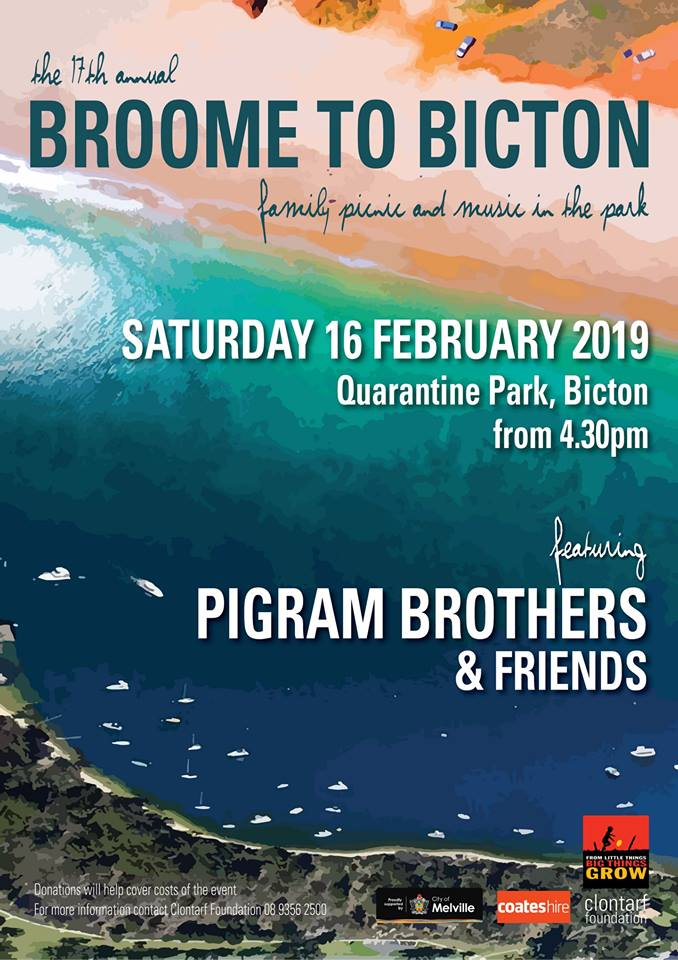 Broome to Bicton. 16Feb