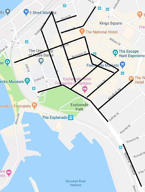 new water mains for fremantle
