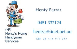 Henty ad