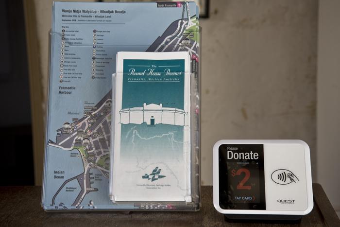 Roundhouse cashless donations