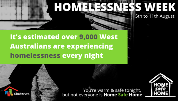 Aug 5 Homelessness Week