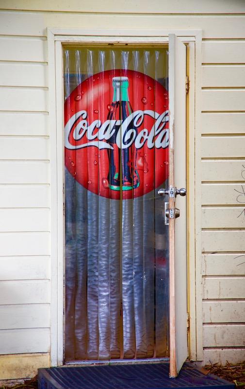 coco cola door