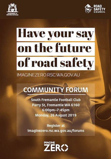 Road Safety Forum 26 August