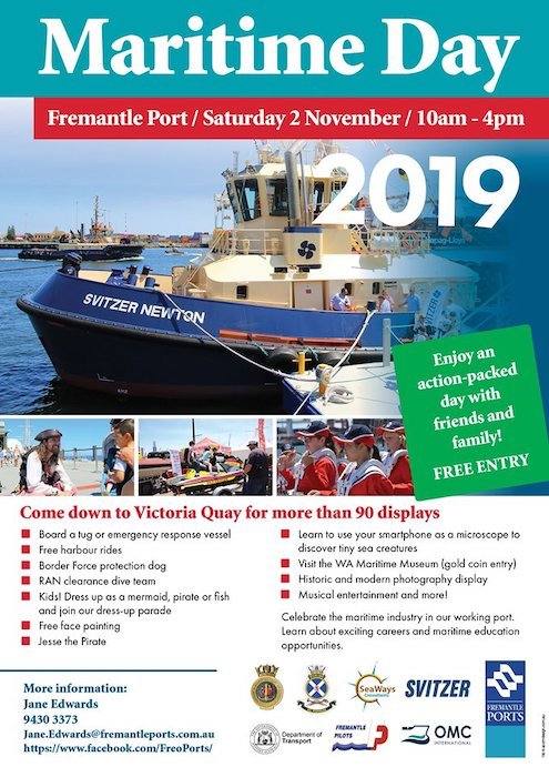 Nov 2. Maritime Day