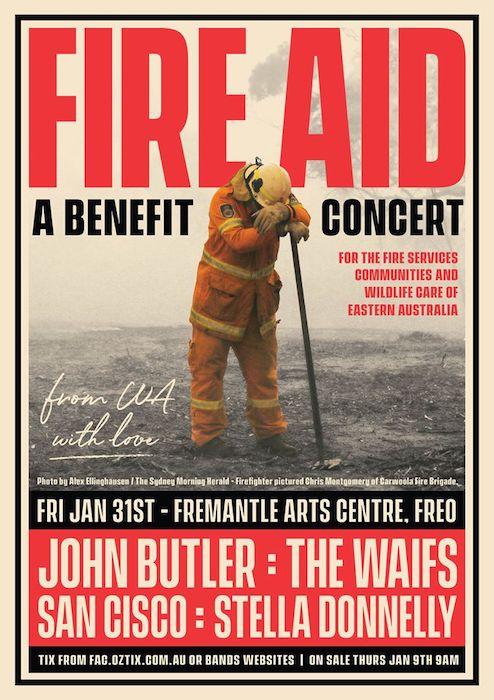 FAC fire concert