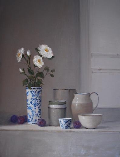 1: White Rose 76x56cm $7950.00
