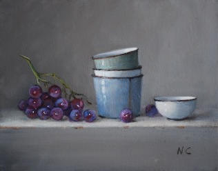 17: Grapes 20x25cm $2350.00
